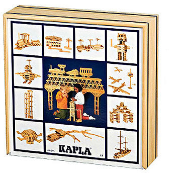 KAPLA Wooden Construction Blocks – 100 Block Set