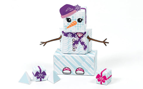 Build-Your-Own Paper Kit - Snowgal