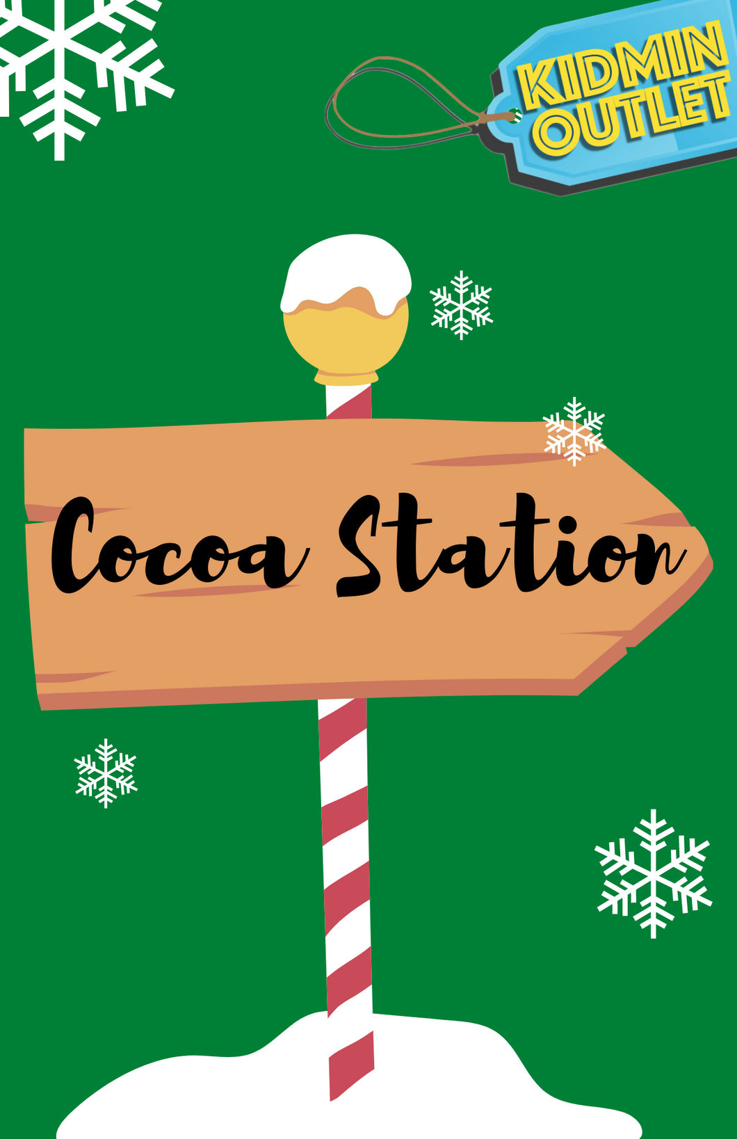Cocoa Station Signs