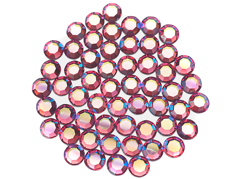 Light Rose AB Preciosa Genuine Czech Round MC Faceted Crystals pink Beads