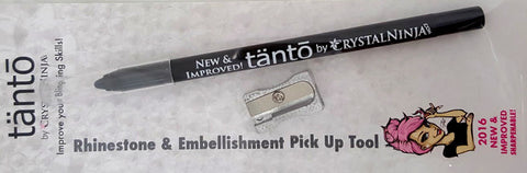 'Crystal Tanto' by Crystal Ninja - Economical Pick Up Tool with New Improved Tip and Sharpener