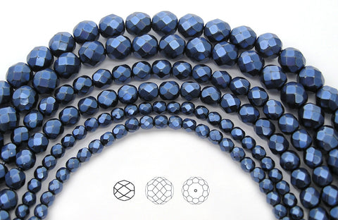 blue-carmen-metallic-pearl-czech-fire-polished-round-faceted-glass-beads-faceted-pearls-PJB-FP4-DkBlueCarmen102