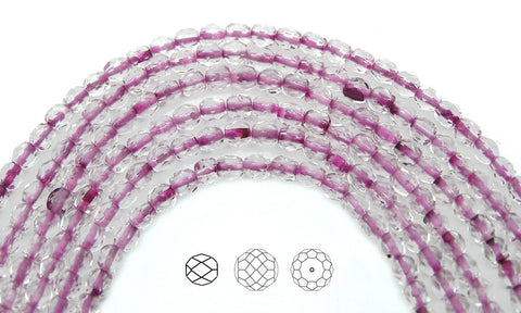crystal-spotted-pink-lined-czech-fire-polished-round-faceted-glass-beads-16-inch-strand-PJB-FP4-CrySpPinkLined102