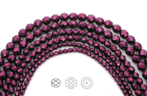 pink-carmen-metallic-pearl-czech-fire-polished-round-faceted-glass-beads-faceted-pearls-PJB-FP4-PinkCarmen102