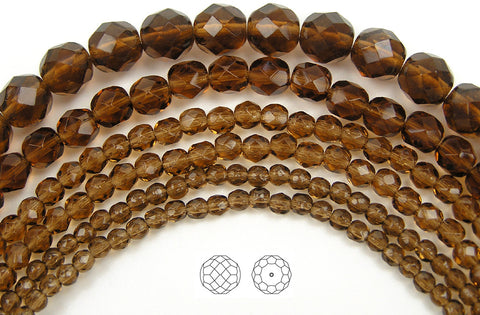 czech-fire-polished-beads-smoked-topaz-PJB-FP3-SmkTopaz135