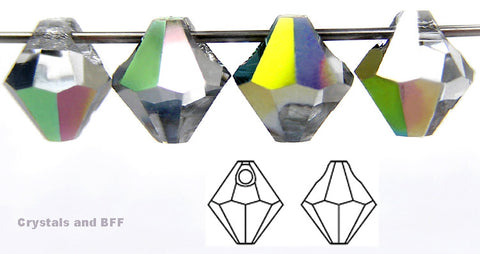 czech-mc-pendants-top-drilled-bicone-Crystal-Vitrail-coated