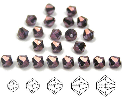 czech-mc-beads-bicone-Crystal-Bronze-Luster