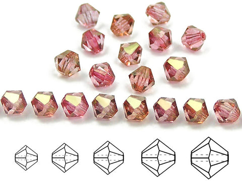 czech-mc-beads-bicone-Crystal-Red-Luster