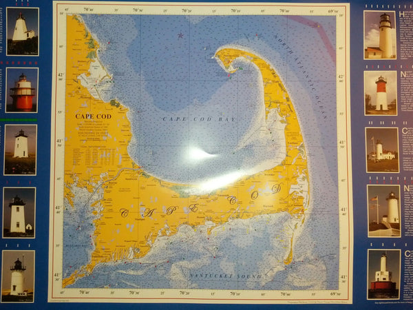Cape Cod poster (laminated)