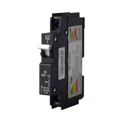 Mini Rail Circuit Breaker 1 Pole 3kA - QA-1(13)
