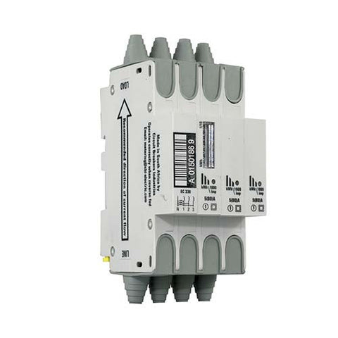 CBi Ecolec Rail Mount Meter 45mm 4 Module 5(80)A EC330CD