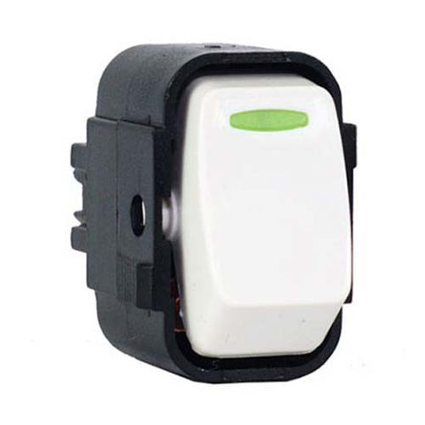 CBi PVC Light Switch Insert 1-Way LI659-P
