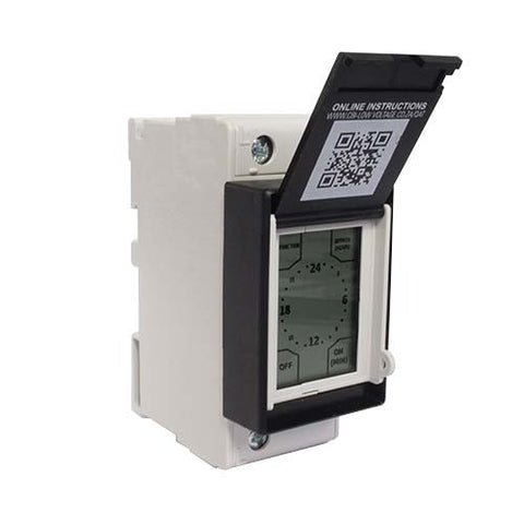 CBi Touch Screen Electronic Geyser Time Switch QAT-TRDM