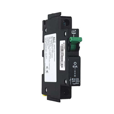 CBi Dual Mount Isolator 1 Pole 6kA 63A - QF-S-1(13) QFA10063