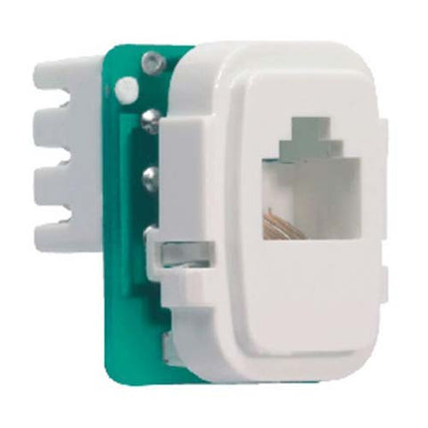CBi PVC Telephone Socket Outlet Insert RJ11 TI657-P