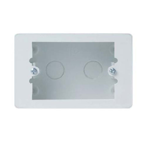 CBi PVC Surface Mount Outlet Box 50mm x 100mm OB690