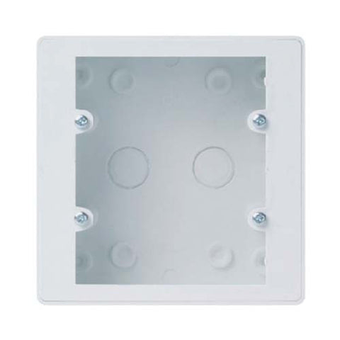 CBi PVC Surface Mount Outlet Box 100mm x 100mm OB878