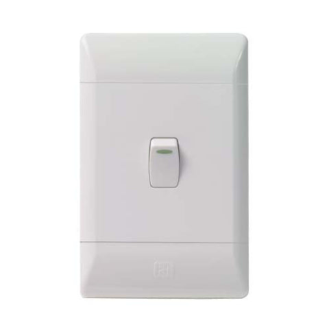 CBi PVC 1 Lever Light Switch L120-P