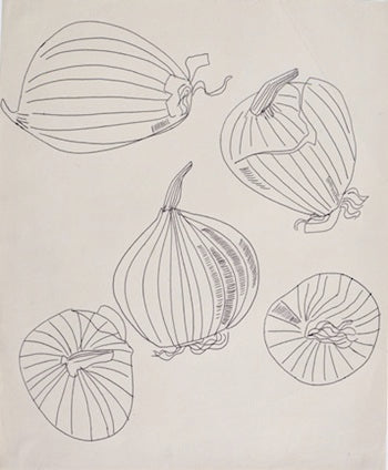 "Andy Warhol's ""Five views of an onion"""
