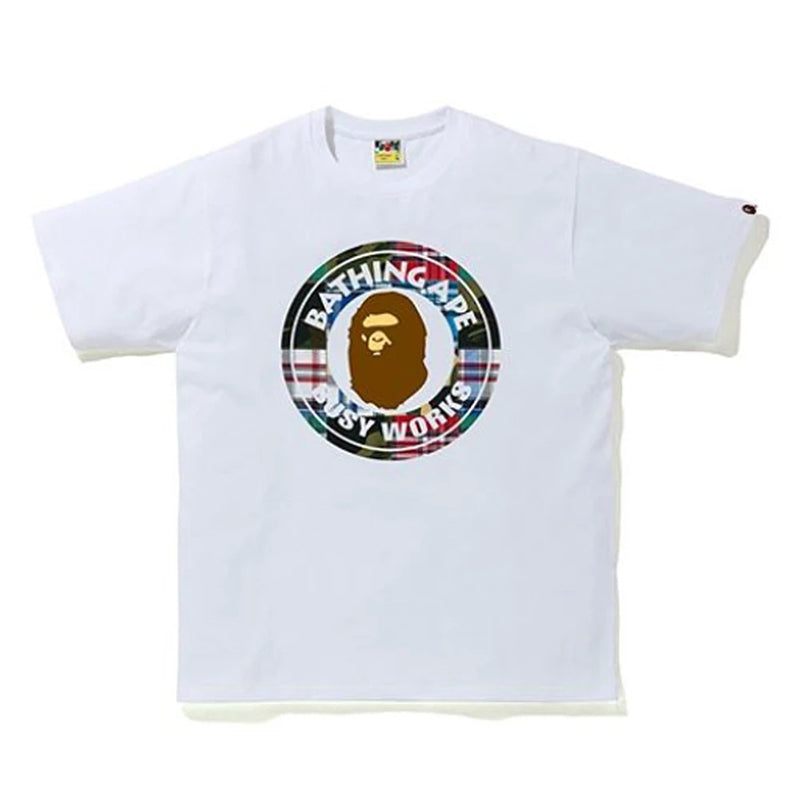 BAPE PATCHWORK BUSY WORKS TEE
