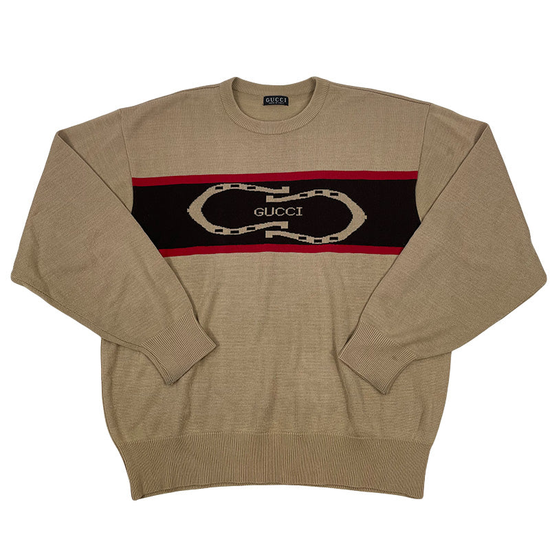 Gucci Vintage Logo Sweater