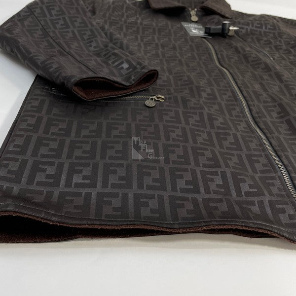 Fendi Zucca Monogram Reversible Jacket