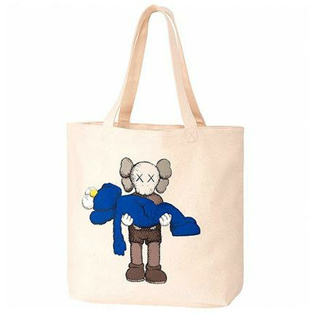 (New) KAWS X UNIQLO 'Gone' Tote Bag
