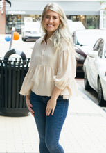 Load image into Gallery viewer, Baby Doll Button Down Top-Liz + Lee Boutique