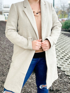 Business Girl Coat Jacket-Liz + Lee Boutique