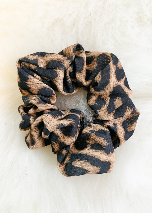 Cheetah Scrunchie-Liz + Lee Boutique