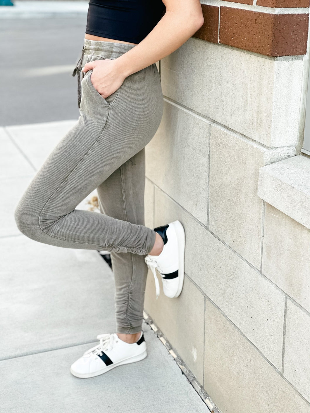 Come On Clover Joggers-Liz + Lee Boutique