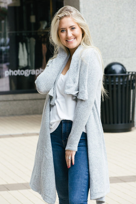Cozy Me Up Cardigan-Liz + Lee Boutique