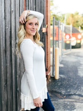 Load image into Gallery viewer, Go With The Flow Top - White-Liz + Lee Boutique