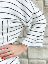 Load image into Gallery viewer, Indy Striped Pocket Top-Liz + Lee Boutique