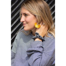 Load image into Gallery viewer, Mustard Tassel Earrings-Liz + Lee Boutique