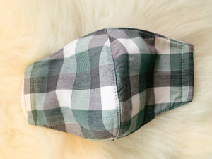 Plaid Masks-Liz + Lee Boutique