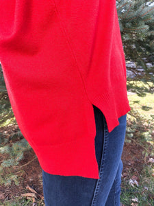 Plain As Day Top - Red-Liz + Lee Boutique