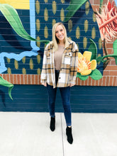 Load image into Gallery viewer, Poppy Plaid Flannel Shacket-Liz + Lee Boutique