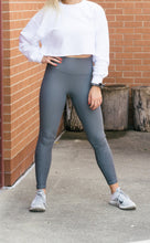Load image into Gallery viewer, Raindrop Leggings (Deja Vu and Black)-Liz + Lee Boutique