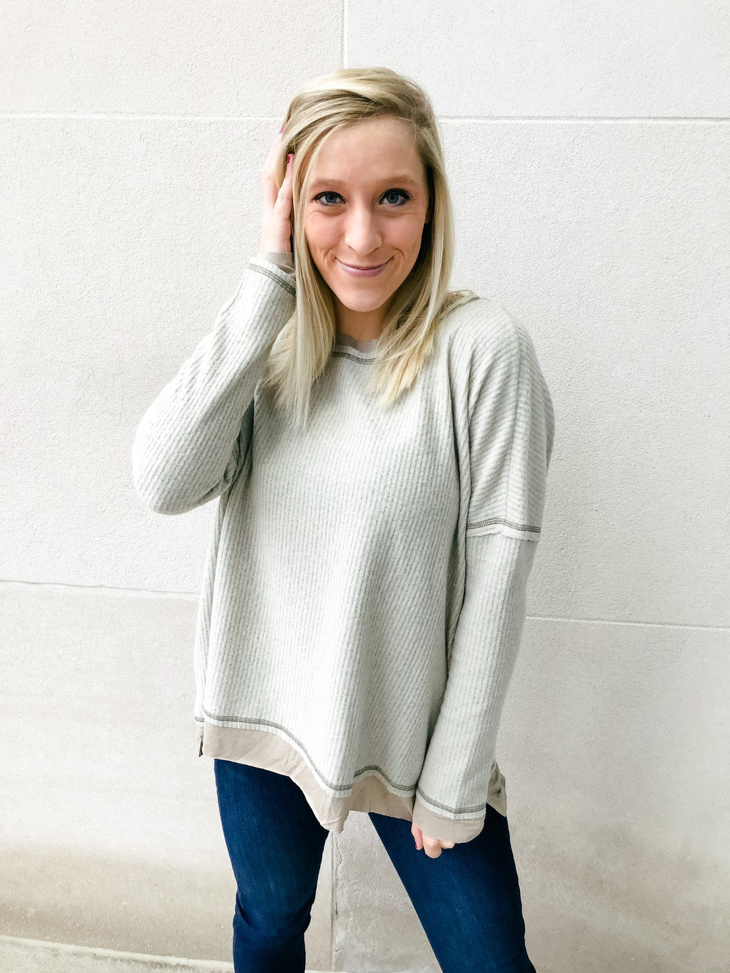 Real Deal Layered Top-Liz + Lee Boutique