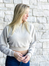 Load image into Gallery viewer, Run With It Cropped Sweatshirt-Liz + Lee Boutique