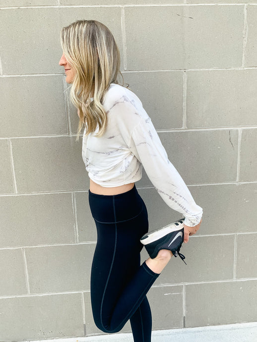 Straight To The Point Black Leggings-Liz + Lee Boutique