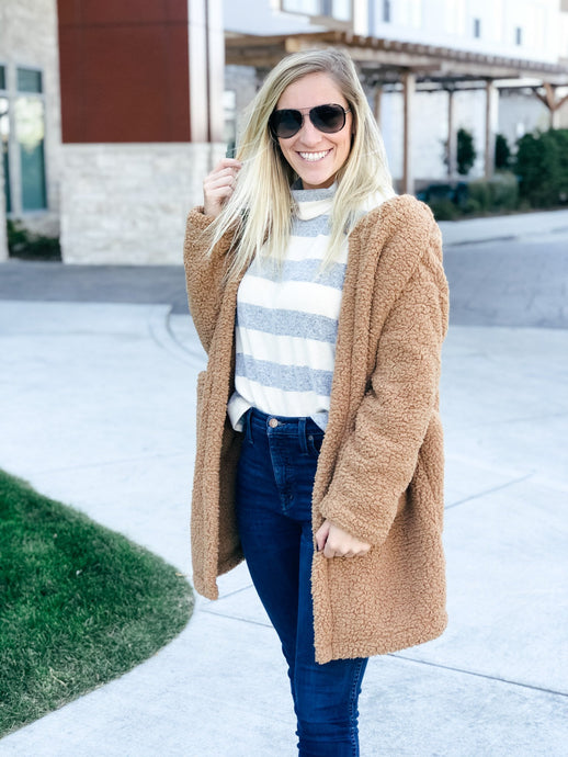 The Teddy Jacket-Liz + Lee Boutique