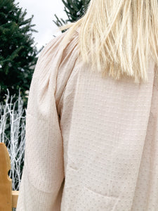 Twinkle In Time Neutral Top-Liz + Lee Boutique