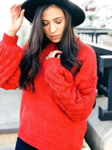 Very Merry Sweater-Liz + Lee Boutique