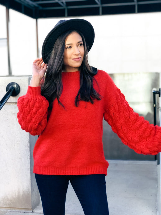 Very Merry Sweater - Liz + Lee Boutique
