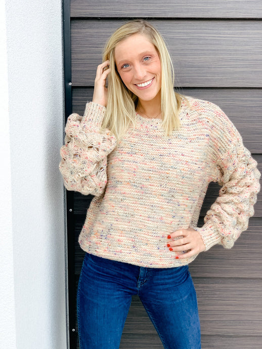 Woven Dreams Sweater-Liz + Lee Boutique