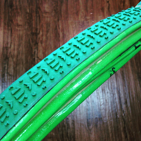 FMB SSC Slalom - Silica Green Tread - PRO Casing - Green