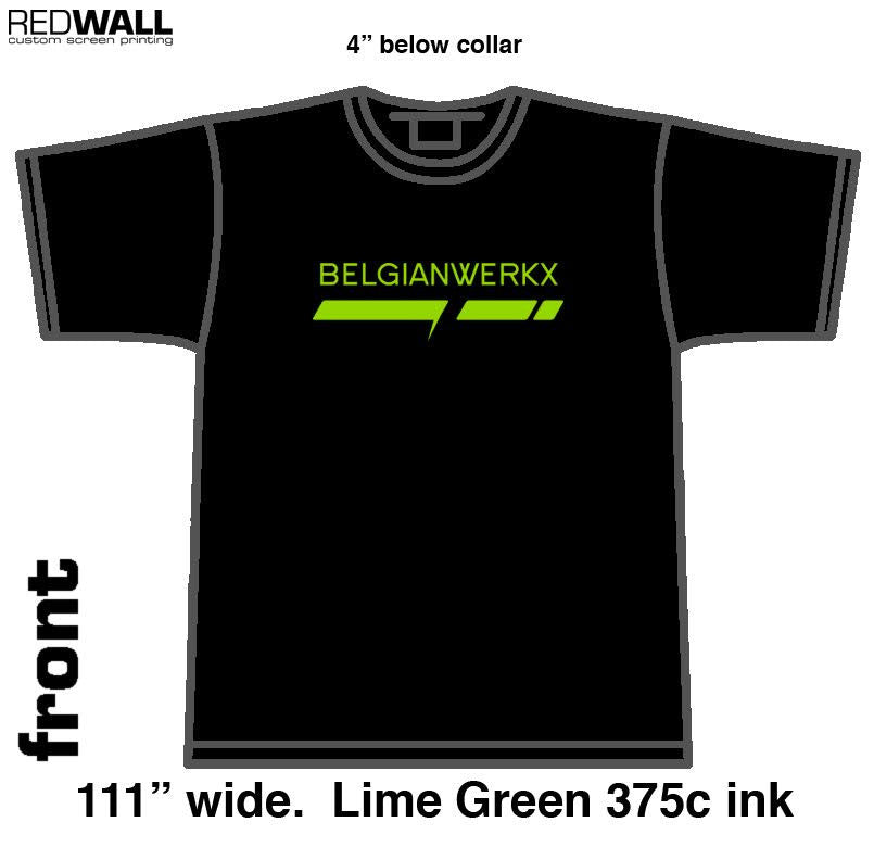Belgianwerkx Team Logo Green