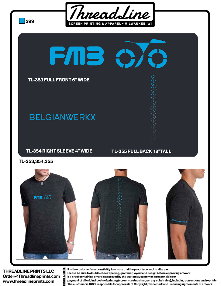 FMB Spine T-Shirt